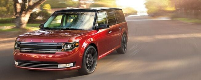 New 2017 Ford Flex for sale in Burlington NC