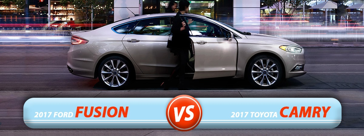 New Ford Fusion vs. New Toyota Camry in Burlington NC