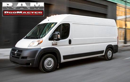 dodge ram vans: