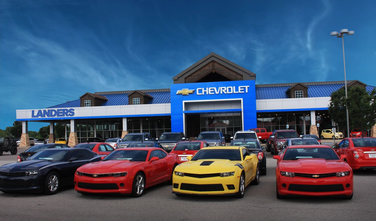 Landers Chevrolet Of Norman New Chevrolet Dealership In Norman - Chevrolet dealer com