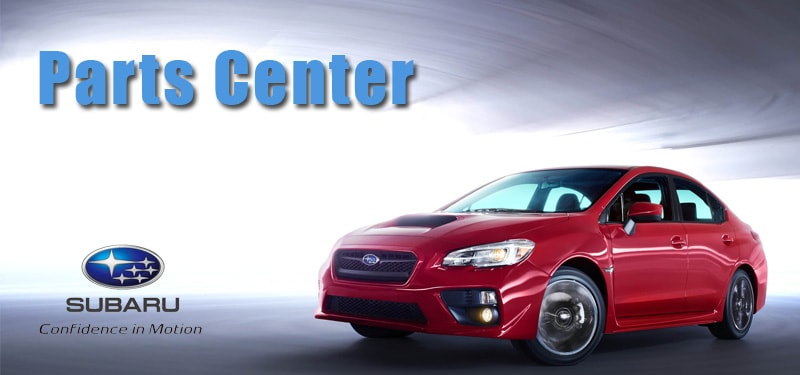 Get parts for your Subaru at the Parts Center in San Jose