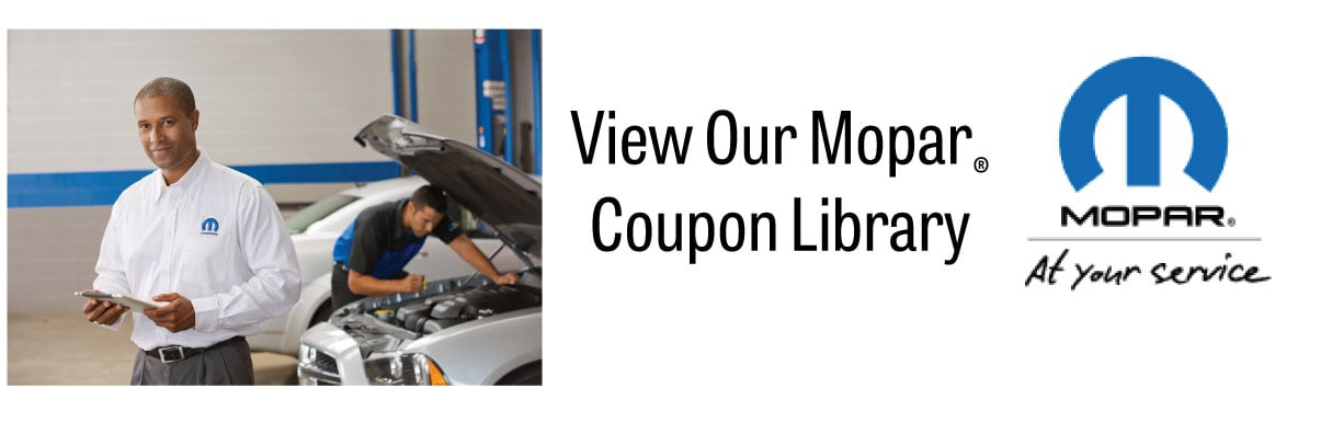 View our Mopar Coupon Library for Dealers on Auto Parts