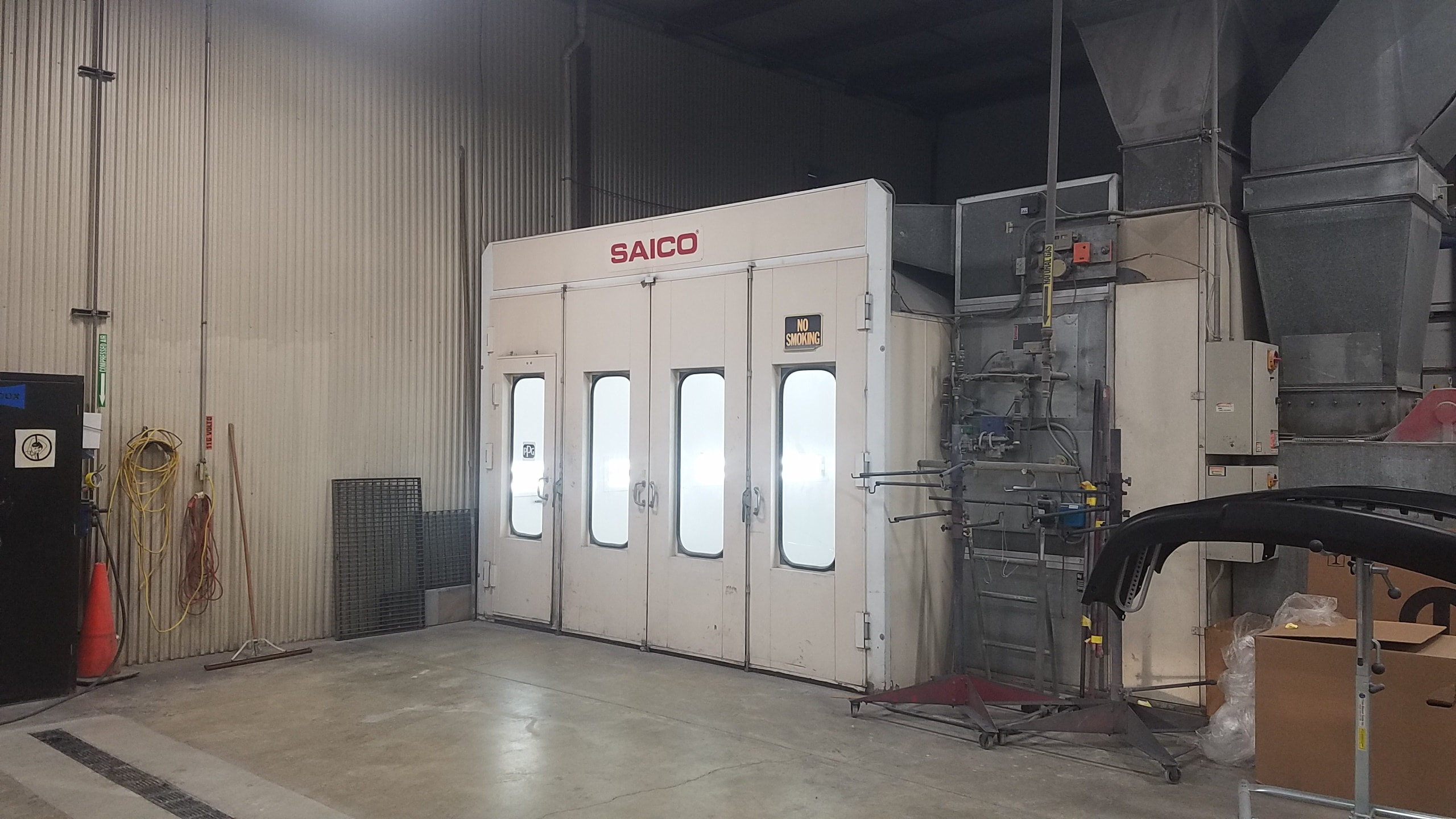 Saico Paint Booth at Stillwell Ford's Body Shop