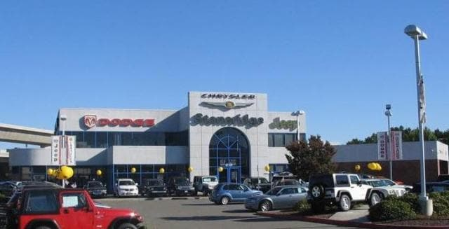 About Our Dealership | Stoneridge Chrysler Dodge Jeep Ram