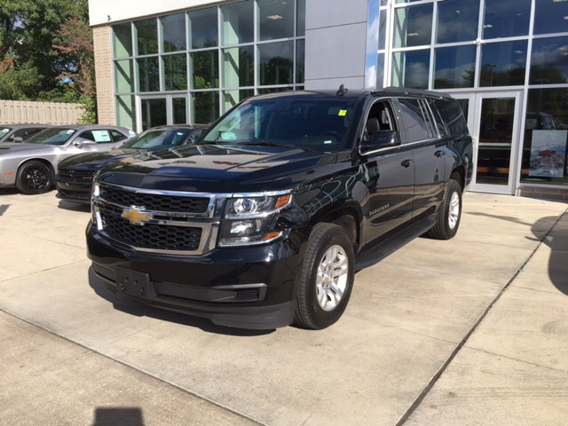 2017 Chevrolet Suburban LT This things got one owner love written all over it Its only been marr