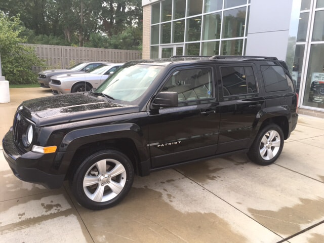 2015 Jeep Patriot Latitude Cloth Happy mule Your throne awaits Jeep CERTIFIED  Check Out T