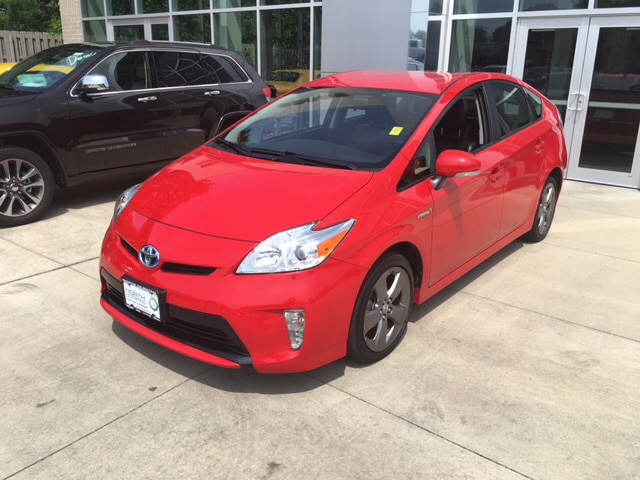 2015 Toyota Prius Persona Series Special Edition 18L 4-Cylinder DOHC 16V VVT-i ABS brakes Alloy