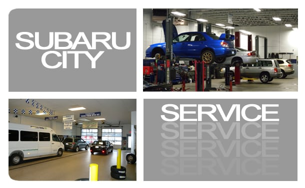 Subaru City Service Department