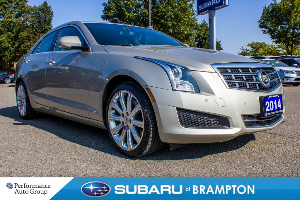 2014 Cadillac ATS 3.6L Luxury. LEATHER. BLUETOOTH. HTD SEATS. RWD Sedan