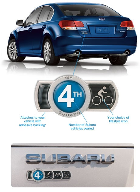 Subaru Badge Of Ownership >> Subaru Badge of Ownership | Subaru of Jacksonville