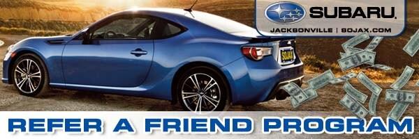 Subaru Referral Program | Subaru of Jacksonville, FL