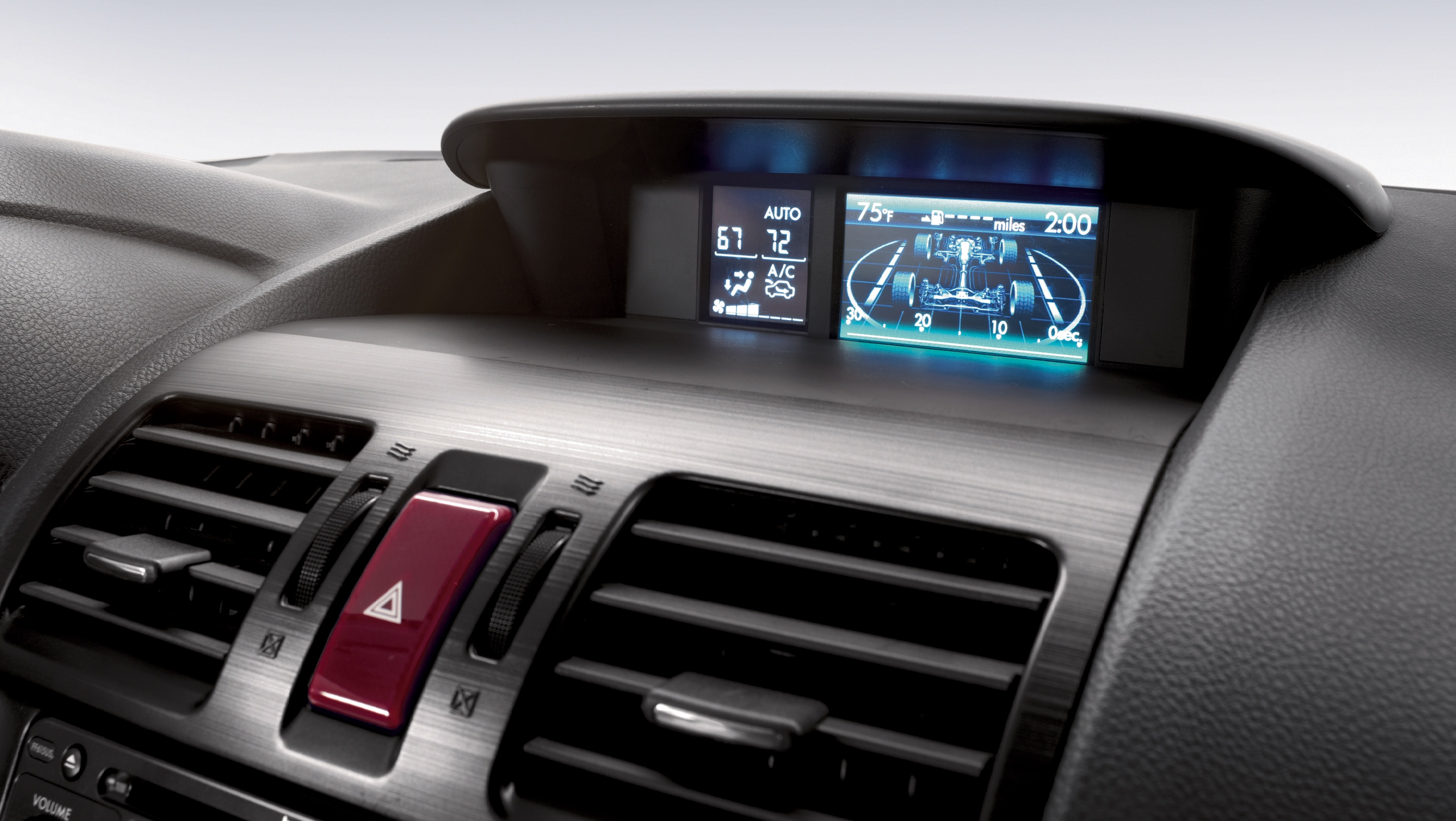 2015 Forester Multi-Function Display 2.5i Touring