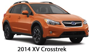 2014 crosstrek is compared with the 2014 impreza and. Black Bedroom Furniture Sets. Home Design Ideas