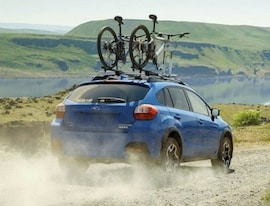 Exterior of the 2017 Subaru Crosstrek
