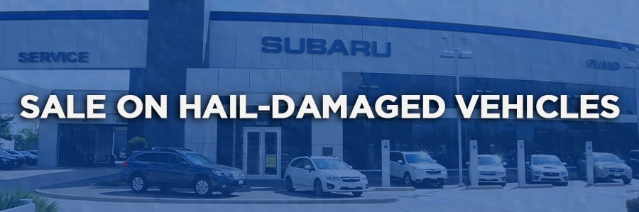 Hail-Damaged Vehicles for Sale in Plano, Texas - Subaru of Plano