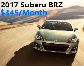 2017 Subaru BRZ Lease Offer