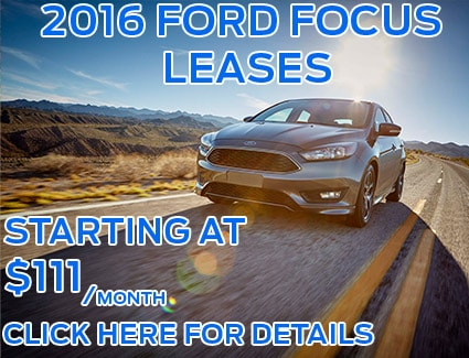 Great Deals on 2016 Focus Leases!