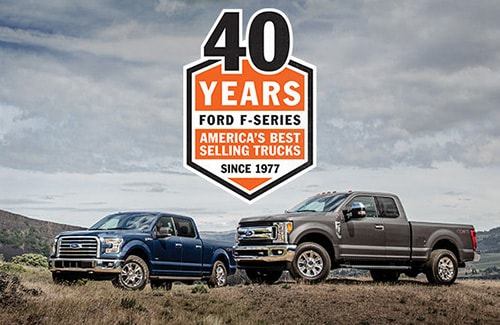 Ford F-Series 40 Years of America's Best Selling Trucks