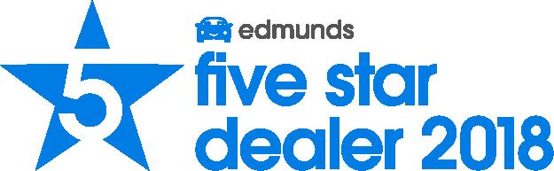 2018 Edmunds Five Star Dealer Award