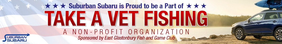 Suburban subaru commitment to community for Take a vet fishing