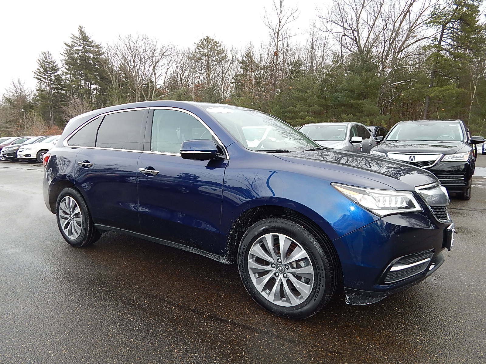 2015 Acura MDX 3.5L Technology Package   SH-All-wheel Drive SUV