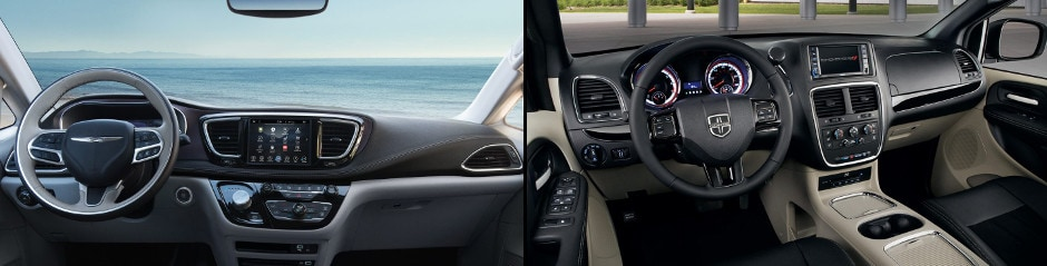 2017 Chrysler Pacifica vs 2017 Dodge Grand Caravan McHenry IL