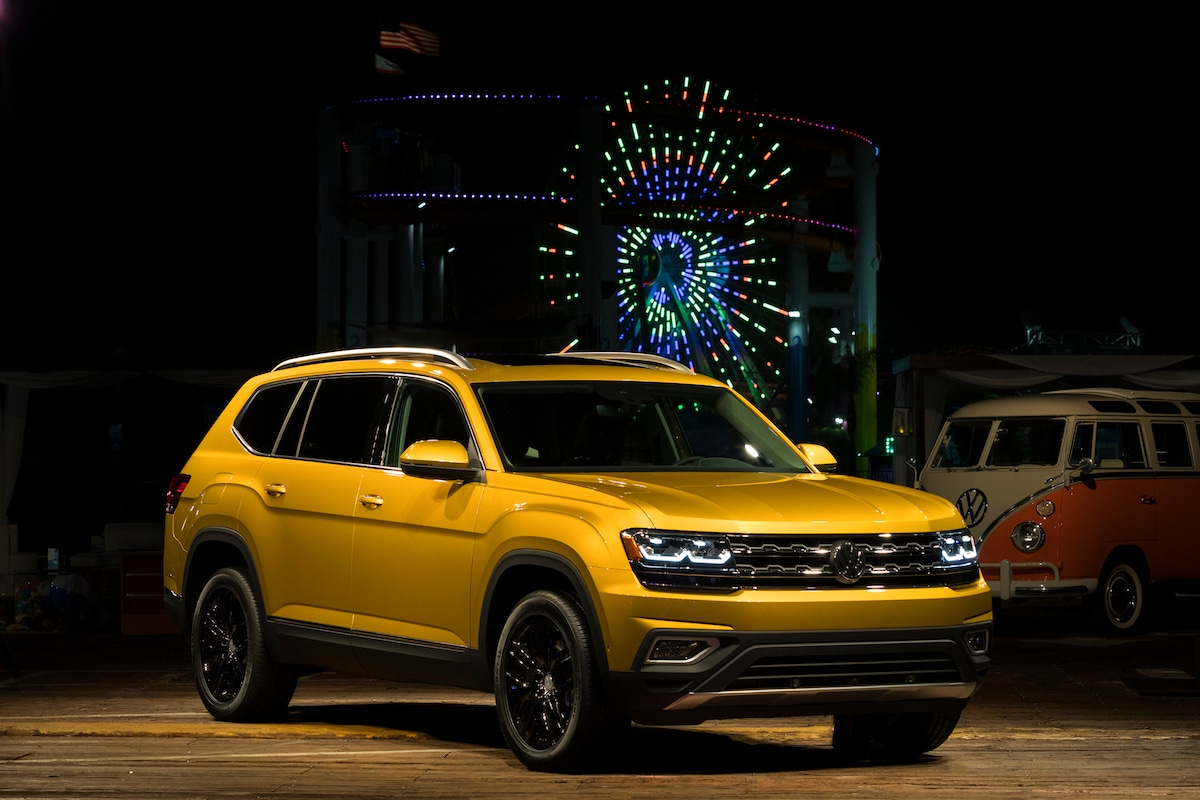 new volkswagen 2018. plain volkswagen 2018 volkswagen atlas on new volkswagen