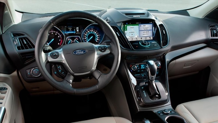 2016 Ford Escape interior
