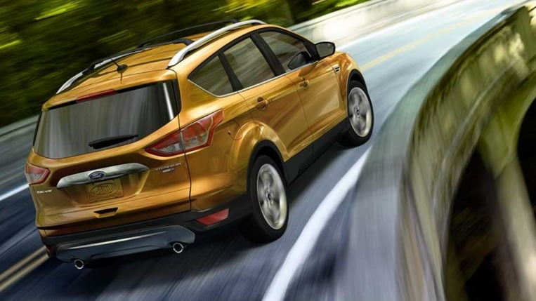 2016 Ford Escape back