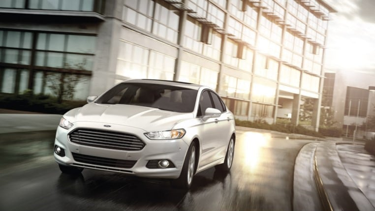 2016 Ford Fusion front