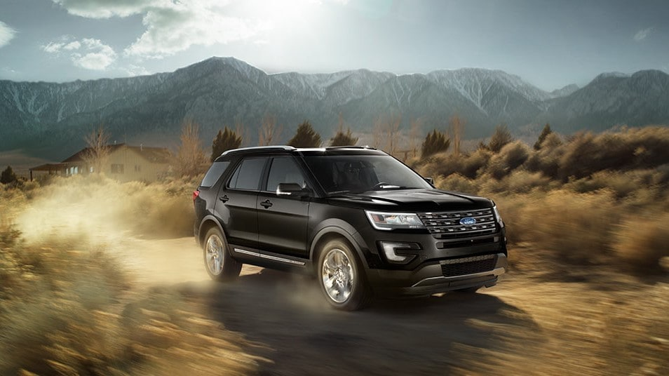 2016 Ford Explorer off road
