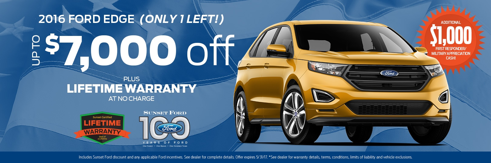 Ford Edge Waterloo Special