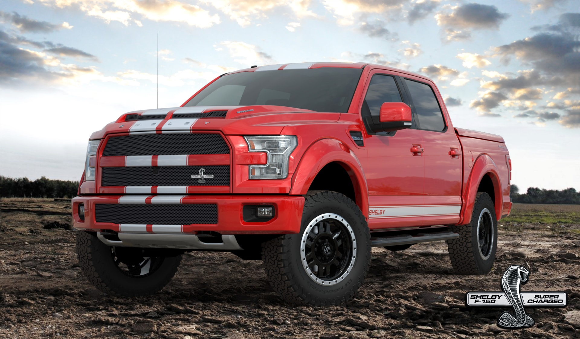 2016 Shelby F-150 Red