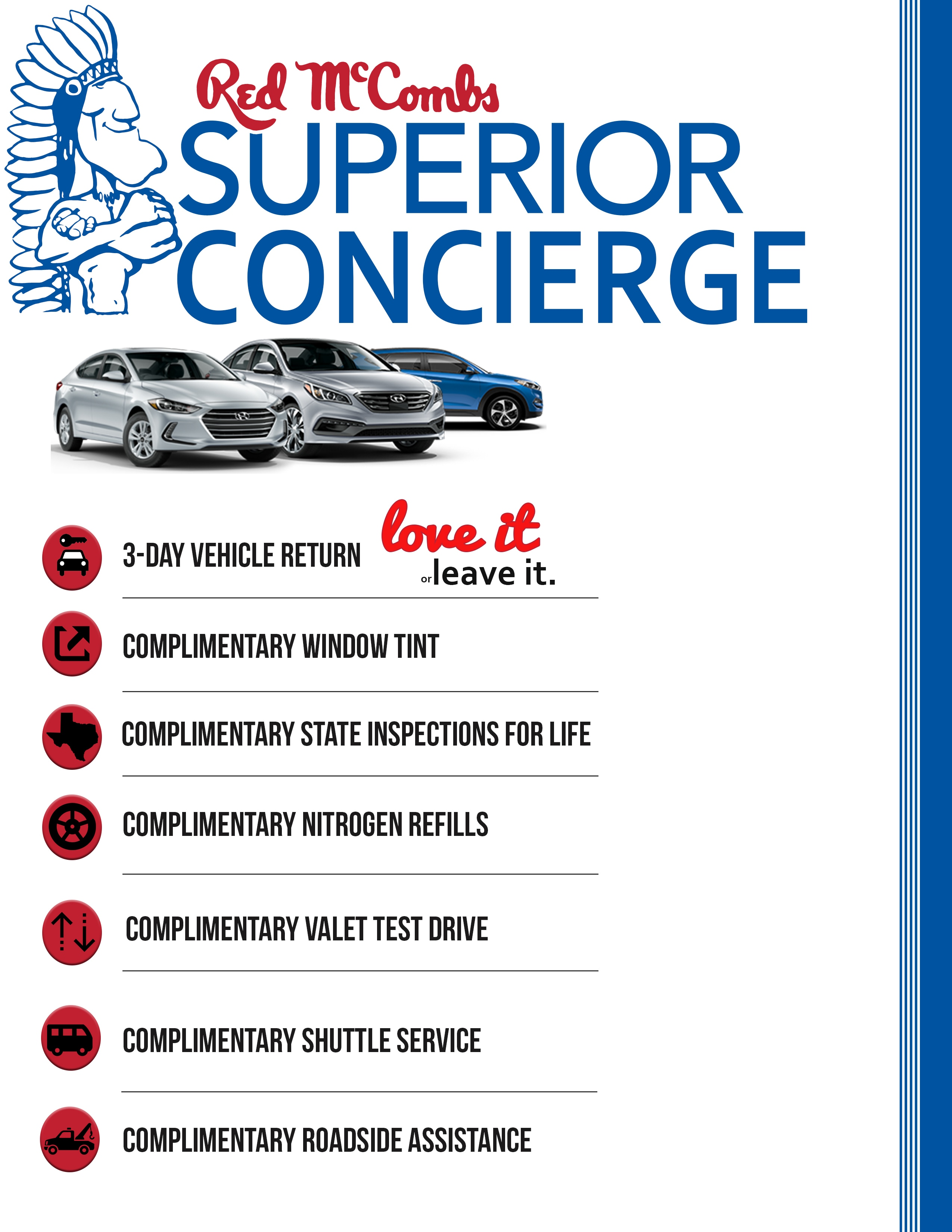 Concierge Program At Red McCombs Superior Hyundai