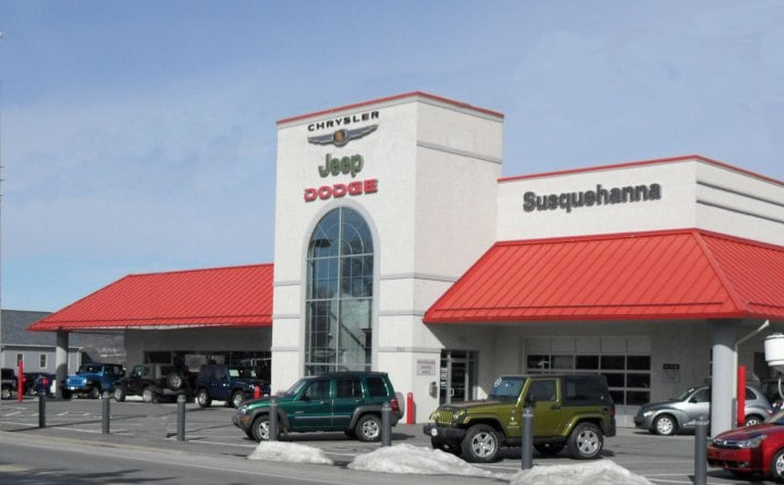 Susquehanna New & Used Chrysler Dodge Jeep Ram dealer in Lancaster PA Area