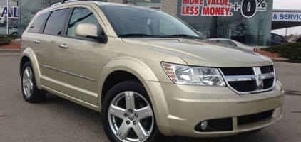 2010 Dodge Journey R/T+AWD+Cooler+Leather+Roof