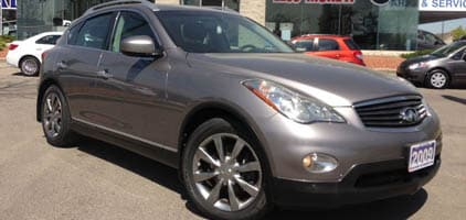 2009 Infiniti Ex35 Luxury AWD+NAV+B-B Cam+leather