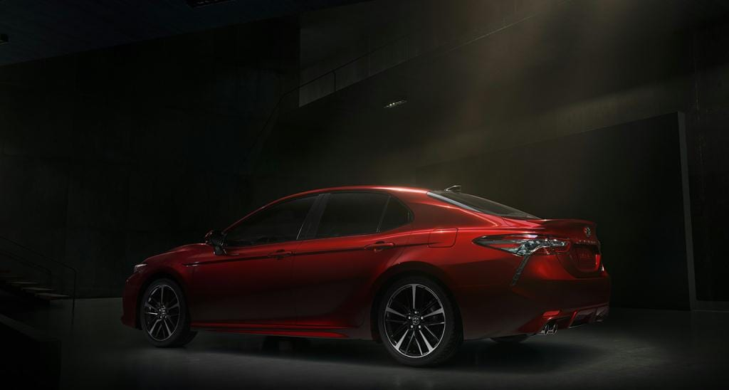 Come in and see the all-new 2018 Toyota Camry at Sierra Toyota Lancaster, CA