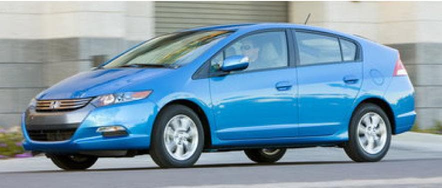 Blue 2011 Honda Insight