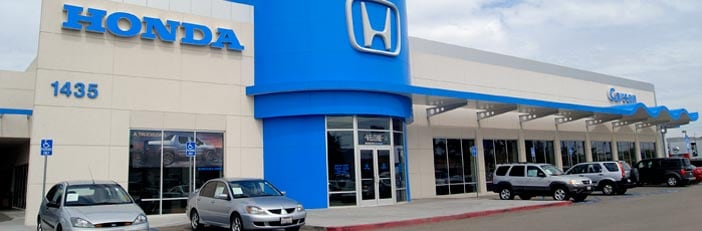 a new used honda car dealership about carson honda