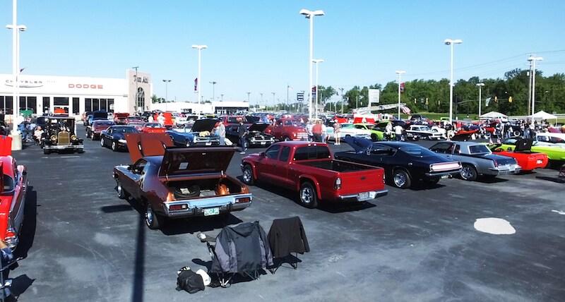 Tom Ahls Annual Car Show Lima Used Car Dealer - Muscle car shows near me
