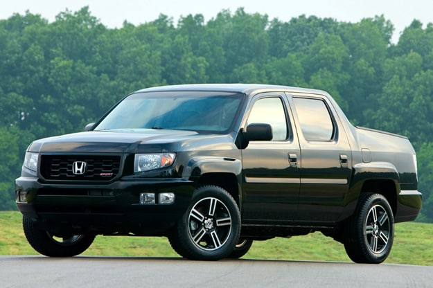 2012 Honda Ridgeline with Sport Package
