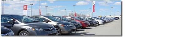 Large selection of used cars