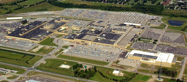 Honda plant in Alliston, Ontario