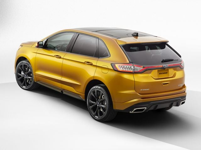 Test Drive The Ford Edge