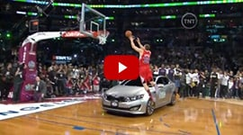 Watch Blake Griffin Dunk over a Kia Optima