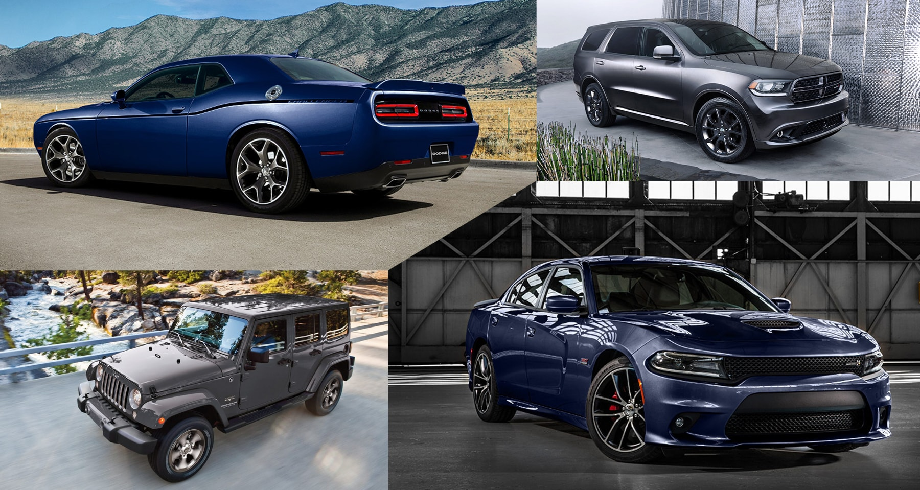 Four Most Loved Chrysler Jeep Ram Vehicles