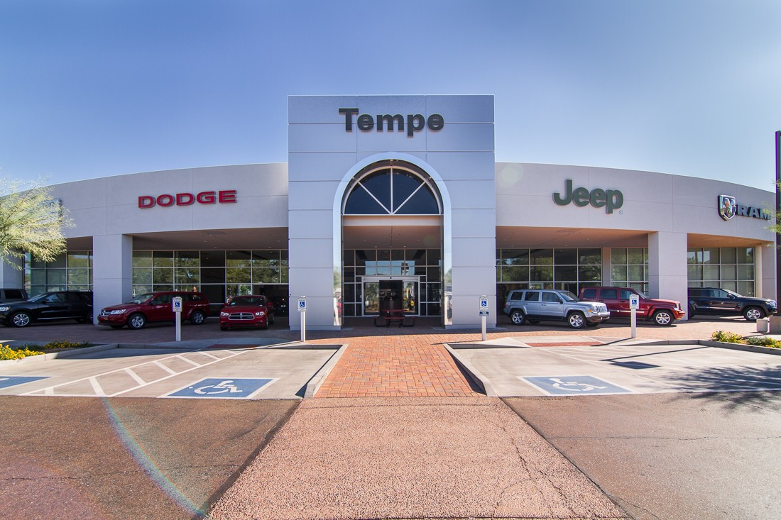 Providing Top Quality Vehicles And Service To Drivers Near Phoenix. Take  The Time To Visit Tempe Chrysler Jeep Dodge ...