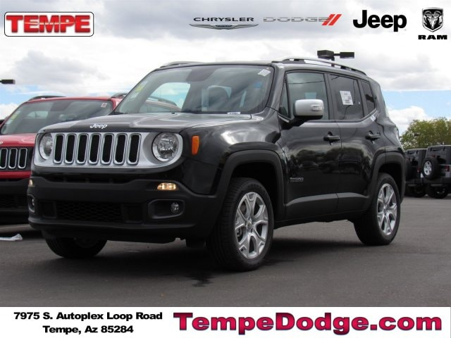 2016 Jeep Renegade Limited 4x4 SUV