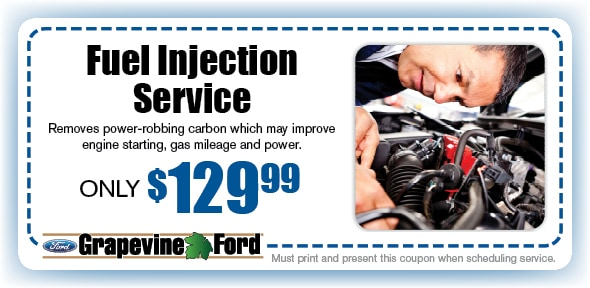 Fuel Injection Flush Service Coupon, Grapevine, TX Automotive Service Special